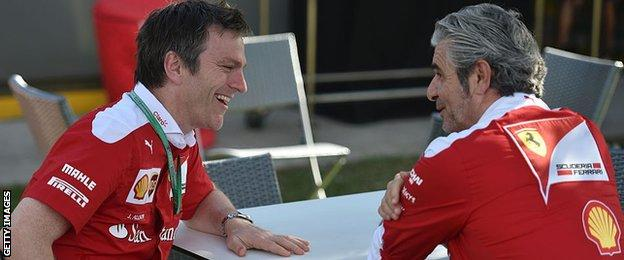 James Allison and Maurizio Arrivabene