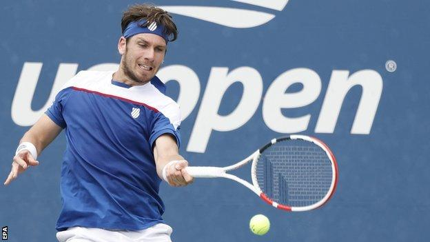 Britain's Norrie shocks ninth seed Schwartzman in US Open thriller thumbnail