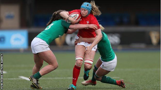 Lock Gwen Crabb made her Wales debut against Hong Kong in November 2018 before establishing herself in the Six Nations squad