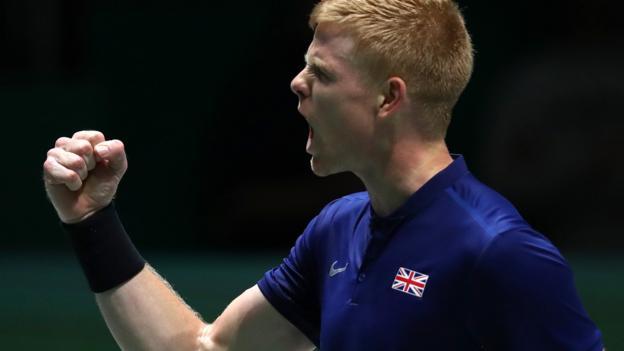 Edmund gives GB Davis Cup lead against Kazakhstan