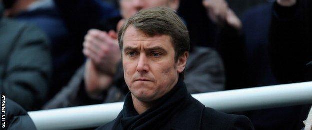 Former Newcastle and Fulham midfielder Lee Clark