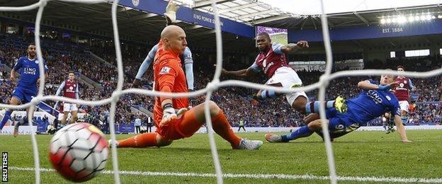 Jamie Vardy's winner against Leicester