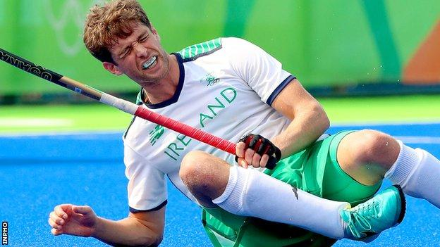 John Jermyn will hope to regain fitness in time to make the final Ireland squad