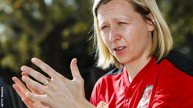 Wales manager Jayne Ludlow