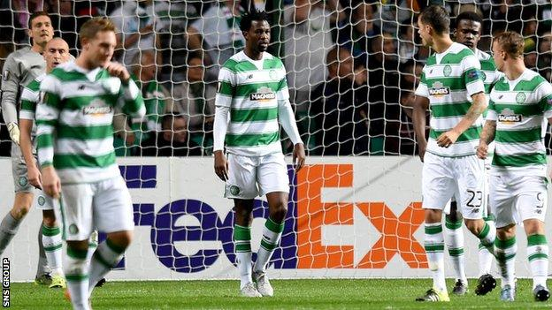 Efe Ambrose was badly at fault for Fenerbahce's first goal at Celtic Park