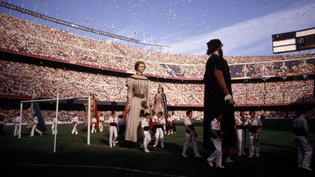Opening ceremony of the 1982 World Cup