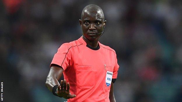 Gambian referee Bakary Papa Gassama