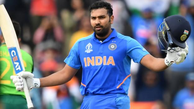 India v South Africa: Rohit Sharma hits century in Cricket World Cup victory thumbnail