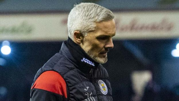 St Mirren 'not a million miles away' - Jim Goodwin plays down pressure