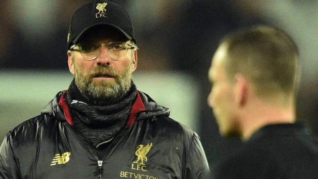 Jurgen Klopp: Liverpool manager charged for comments about referee in West Ham draw thumbnail
