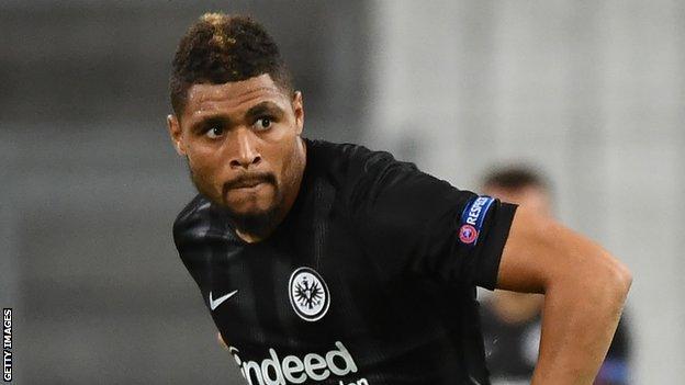 Eintracht Frankfurt defender Simon Falette