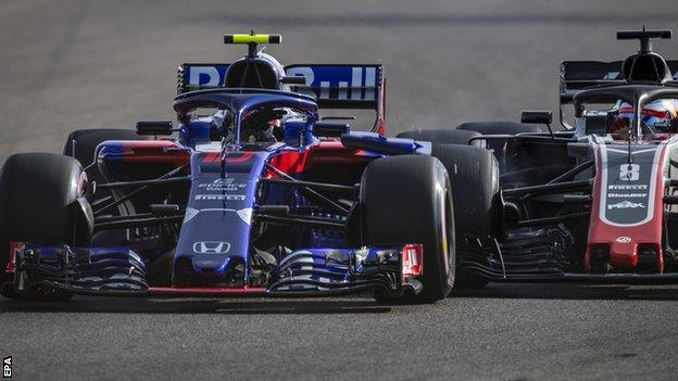 Pierre Gasly and Romain Grosjean