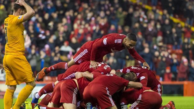 Aberdeen 3-2 Livingston: Lewis Ferguson overhead kick secures late Dons victory thumbnail