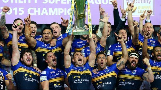 Leeds lift trophy aloft
