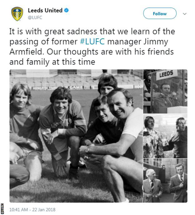 Leeds United tweet