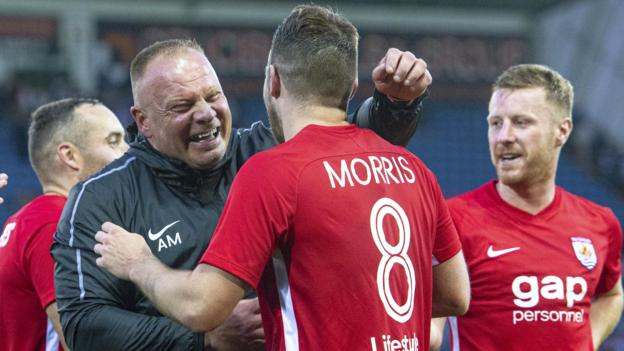 Kilmarnock 0-2 Connah's Quay Nomads: Scots stunned by Welsh thumbnail