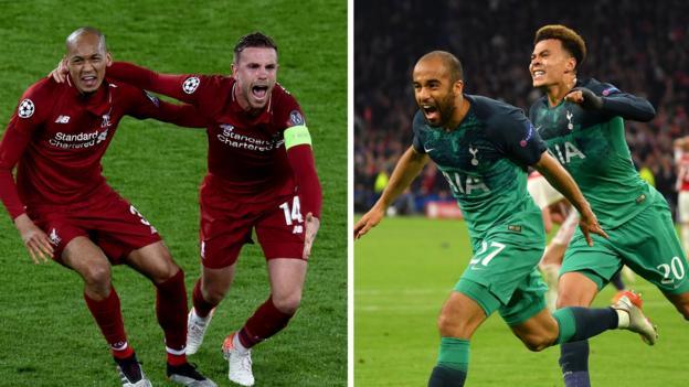 Champions League final: Liverpool's Klopp & Tottenham's Pochettino on semi-finals thumbnail