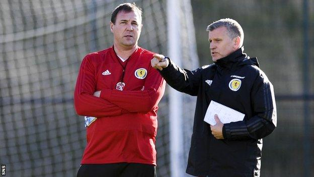 Malky Mackay and Eric Black