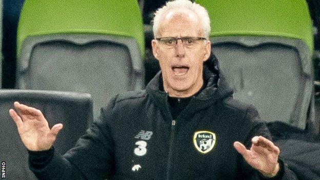 Republic manager Mick McCarthy