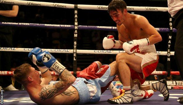 After beating Nelson, Conlan now wants to fight Chester's Paul Butler