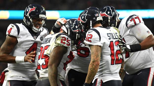 Houston Texans 26-3 Jacksonville Jaguars: Texans win last London game of 2019 thumbnail