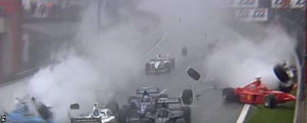 Spa crash 4