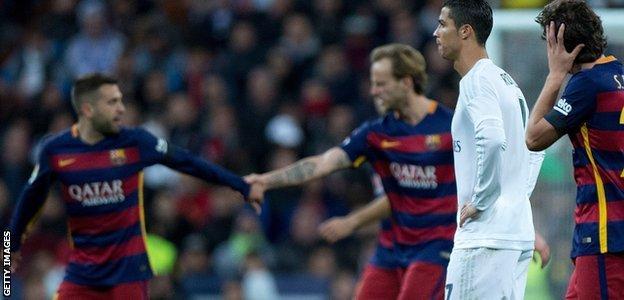 Barcelona 4-0 Real Madrid