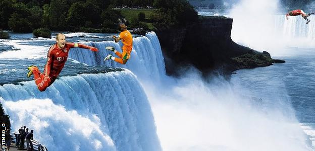 Niagra Falls and certain footballers... can we say much more?