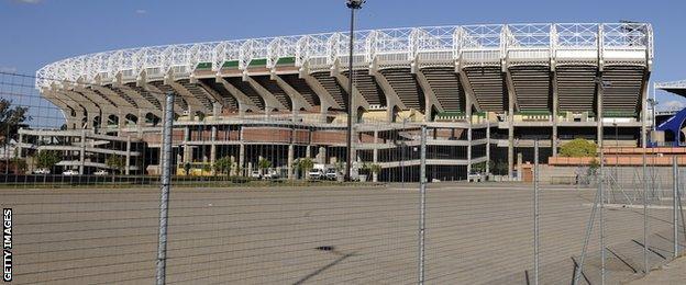 Free State Stadium in Bloemfontein