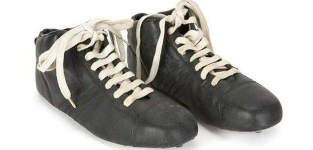 Boots worn by Pele in Escape to Victory