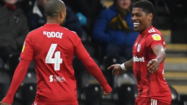 Hull City 0-1 Fulham: Ivan Cavaleiro gives Scott Parker's side ...