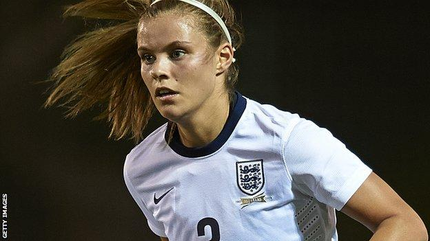 England Women's Rachel Daly