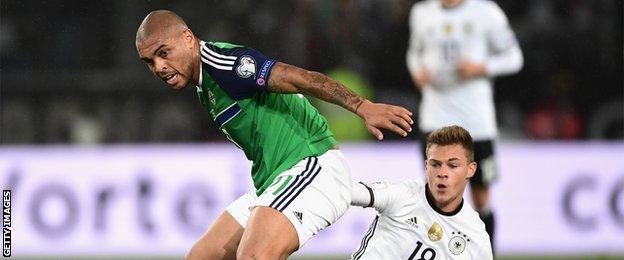 Northern Ireland striker Josh Magennis