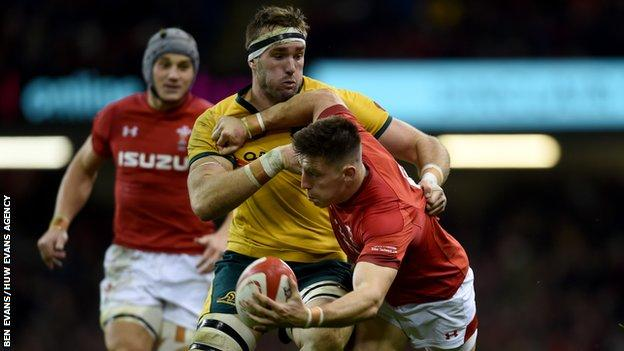 Worcester wing Josh Adams was given a starting Wales berth against Australia
