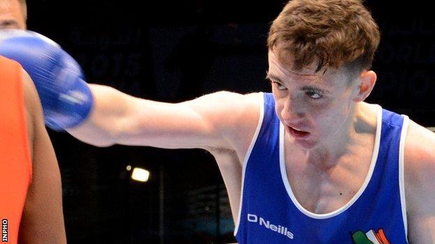 Brendan Irvine won a silver medal in the 2015 European Games