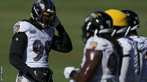 NFL club Baltimore Ravens promise to 'drive change now' thumbnail