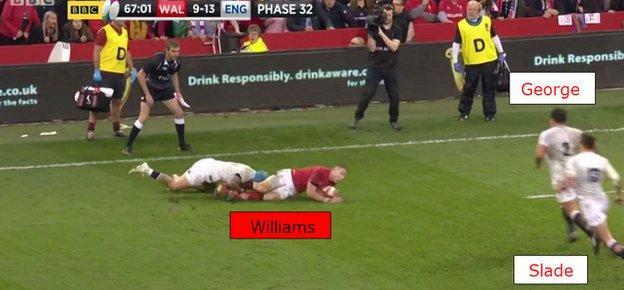 Liam Williams in danger