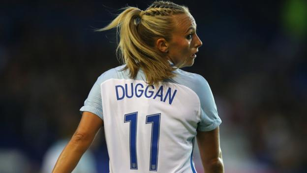 Women's World Cup: England's Toni Duggan on being a role model thumbnail