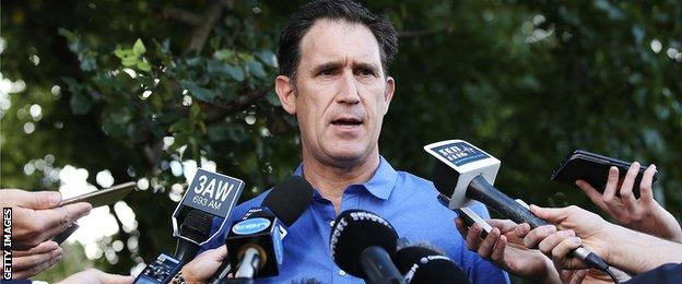 Cricket Australia CEO James Sutherland