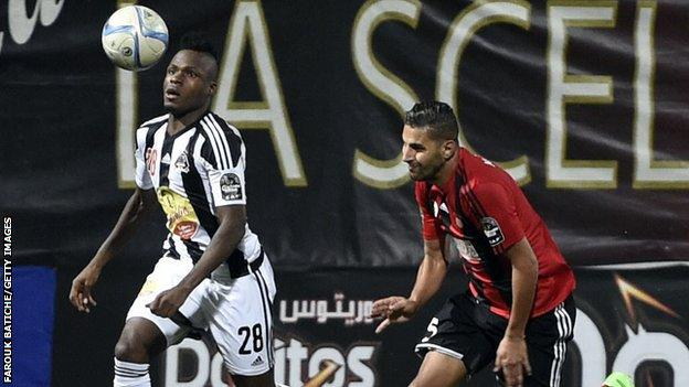 USM Alger vs TP Mazembe