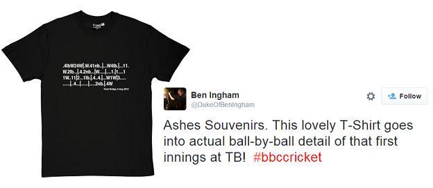 Trent Bridge t-shirt