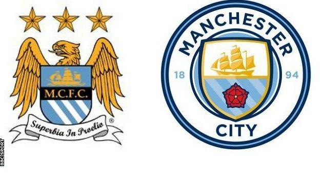 Manchester City badges