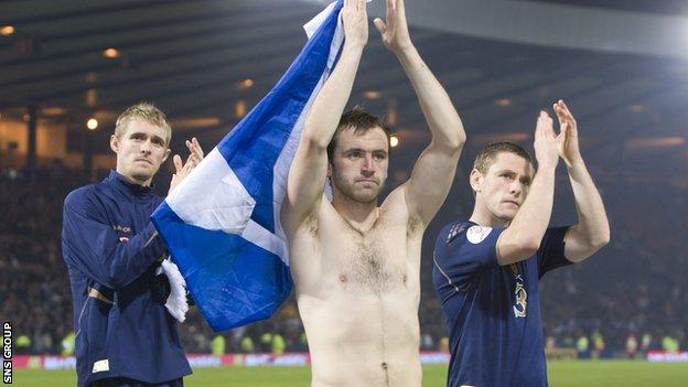 Heartache at Hampden after Scotland lost to Italy in 2007