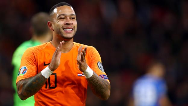 Memphis Depay: Netherlands & Lyon forward set to miss Euro 2020 thumbnail