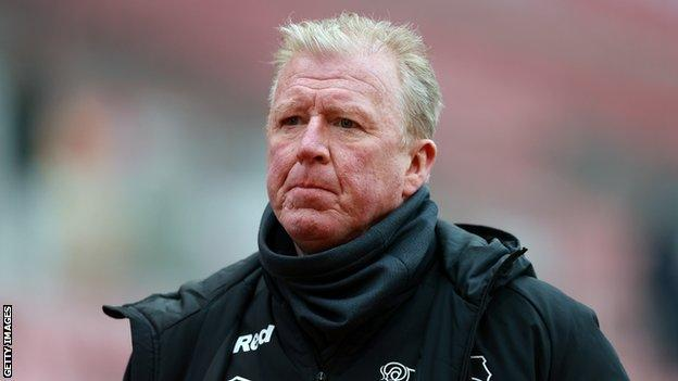 Derby County technical director Steve McClaren