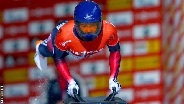Olympic skeleton champion Lizzy Yarnold
