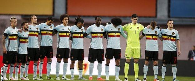 Belgium tribute