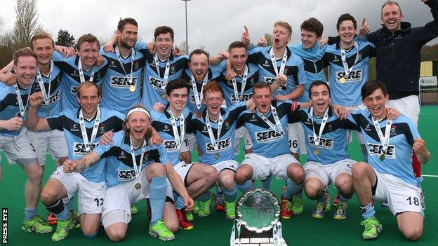 Lisnagarvey beat hosts Banbridge in the first Champions Trophy final