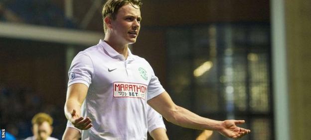 Hibs playmaker Scott Allan has attracted interest from boyhood heroes Rangers