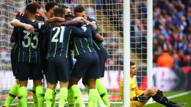 Manchester City 1-0 Brighton & Hove Albion: Manchester City reach FA Cup final thumbnail